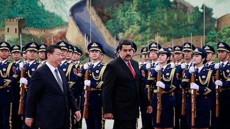 Maduro manteve política orientada para China iniciada por Hugo Chávez