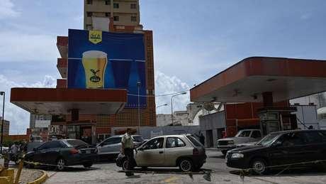 Maracaibo é uma das cidades mais afetadas pela falta de gasolina