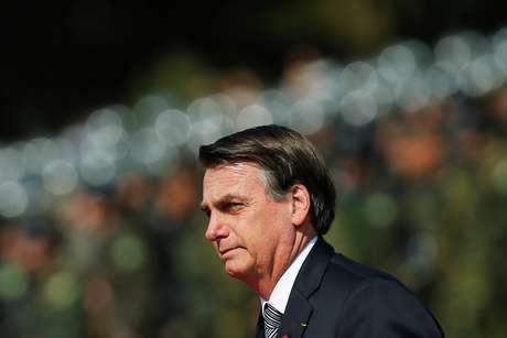 Presidente Jair Bolsonaro, em ceimônia em Brasília,  23/08/2019. REUTERS/Adriano Machado