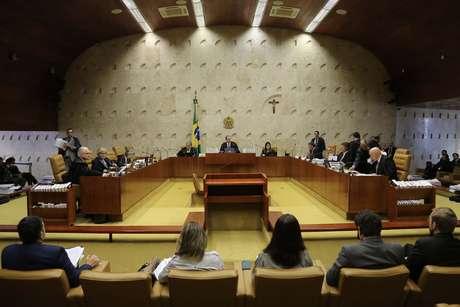 Plenário do STF em Brasília (DF), durante sessão