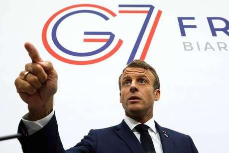 Macron diz que G7 concorda em ajudar combate a queimadas na Amazônia