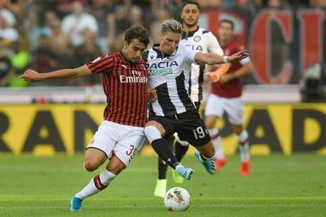 Paquetá teve atuação apagada em Udine (Foto: AFP)