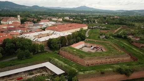 Campo de concentração Theresienstadt, localizado a 60km de Praga