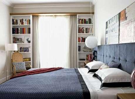 64. Escolha a cortina para janela de quarto que combine com a decoração – Por: Pinterest