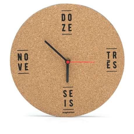 11. Todo um relógio pode ser feito a partir da cortiça. Foto: Imaginarium