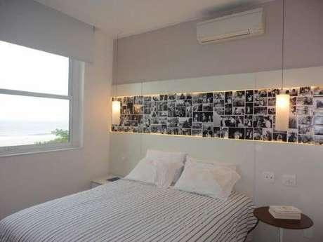 16. Janela para quarto com janela de alumínio – Por: Pinterest