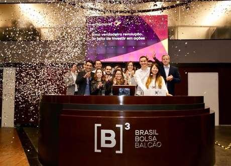 Lançamento da nova plataforma da Easynvest, na B3, em São Paulo.
