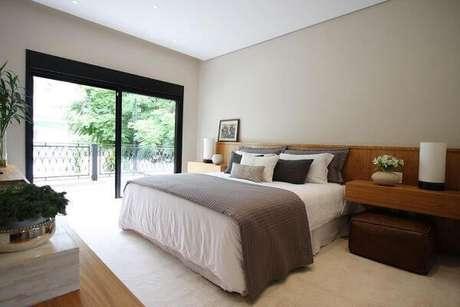 38. Use a janela para quarto de casal adequada para o ambiente – Por: Mes Arquitetura