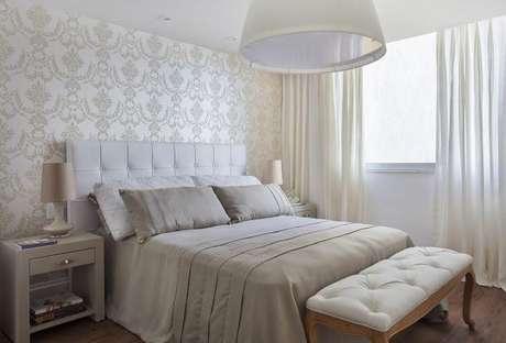 41. Janela para quarto de casal neutro e clássico – Por: Sthel Fontenelle Arquitetura