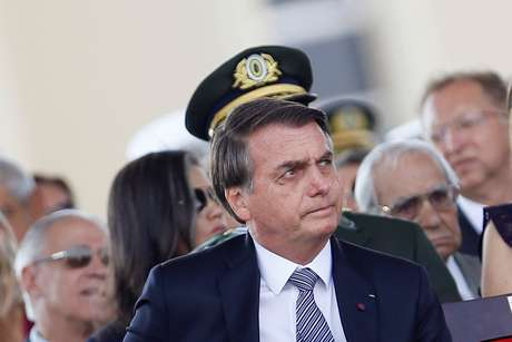 Presidente Jair Bolsonaro durante cerimônia em Brasília 23/08/2019 REUTERS/Adriano Machado
