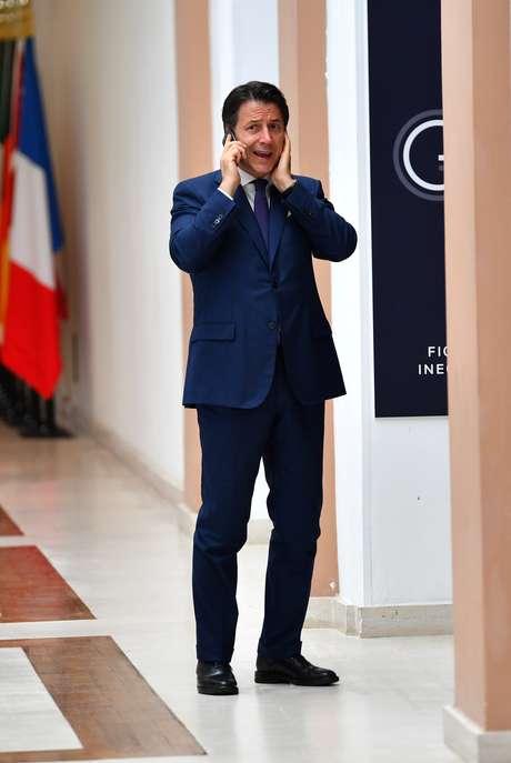 Giuseppe Conte, que renunciou ao cargo de primeiro-ministro da Itália, mas pode voltar ao cargo. 25/8/2019. REUTERS/Dylan Martinez