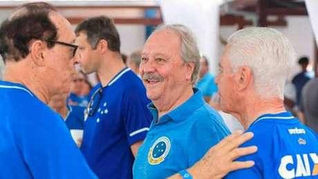 Presidente do Cruzeiro segue pressionado no cargo desde que as denúncias de irregularidades financeiras vieram a à tona-(Divulgação)