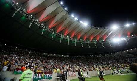 Fluminense recebe o Corinthians no Maracanã (Foto: LUCAS MERÇON / FLUMINENSE F.C.)