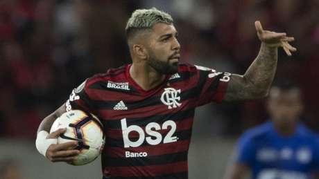 Gabigol é o artilheiro do Campeonato Brasileiro, com 12 gols (Foto: AFP)