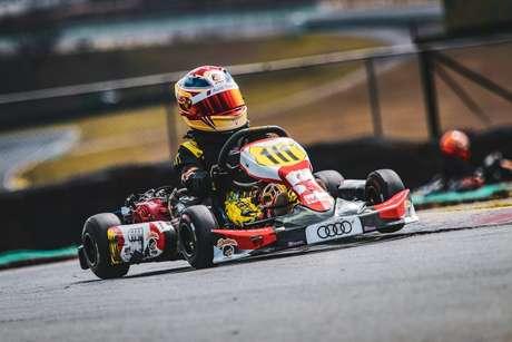 Augustus Toniolo vence duas provas na Copa Interlagos de Kart e visita grid da Corrida do Milhão