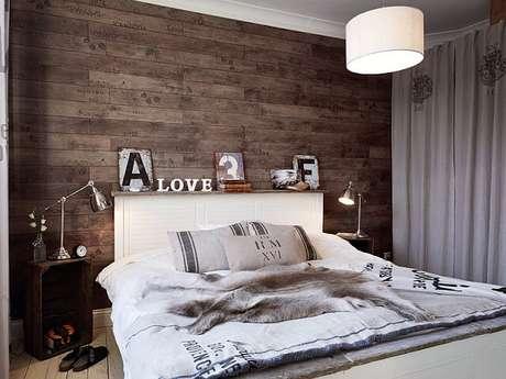 61. Piso para parede de quarto na parede – Por: Decorando Casas