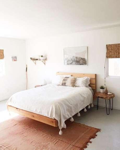 14. Pisos para quarto feminino na cor cinza claro – Por: Pinterest