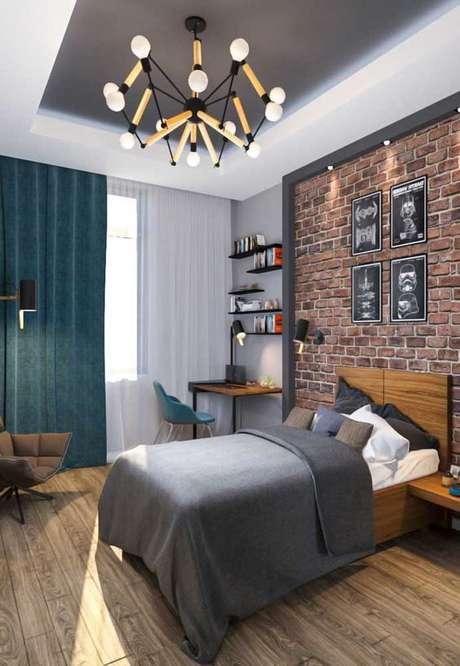 32. Pisos para quarto moderno – Por: Ideias Decor