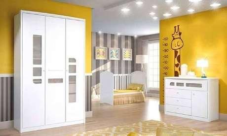 38. Escolha os pisos para quarto infantil que proporcionem maior conforto para a criança – Por: Pinterest