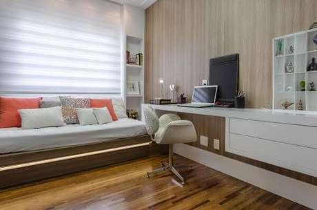 42. Os pisos para quarto tornam o ambiente mais aconchegantes e lindos – Por: Márcia Acaro