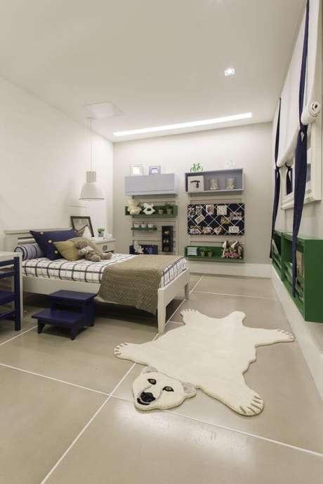 47. O porcelanato também é uma boa opção de pisos para quarto – Por: By Kami