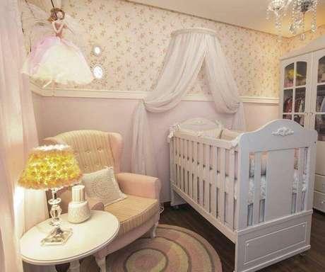 48. Quarto com decoração de princesa. Fonte: Pinterest
