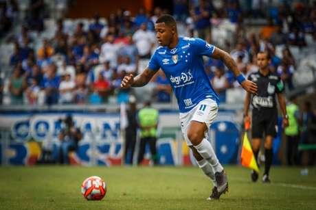 David está no Cruzeiro desde 2018 e ainda busca uma maior sequência de jogos pela Raposa-(Vinnicius Silva/Cruzeiro)