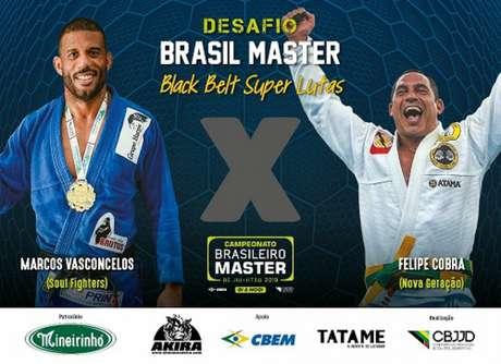 Brasileiro Master de Jiu-Jitsu terá como atração as superlutas no próximo mês de setembro (Foto: Divulgação/CBJJD)