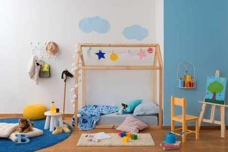 30. Cama casinha para quarto infantil – Por: Casa Cláudia