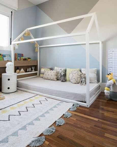 59. Quarto montessoriano com cama casinha – Por: Casa Vogue