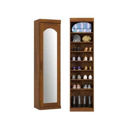 37. Sapateira com espelho estilo colonial. Fonte: Pinterest