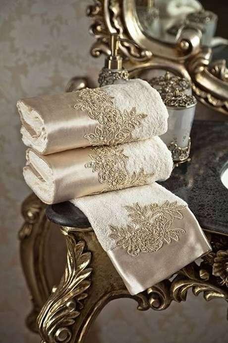 4. Banheiros que não possuem toalha de lavabo costumam ser encarados como incompletos. Foto: Wallpaper HD