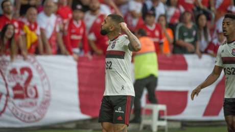 Gabigol marcou para o Flamengo.