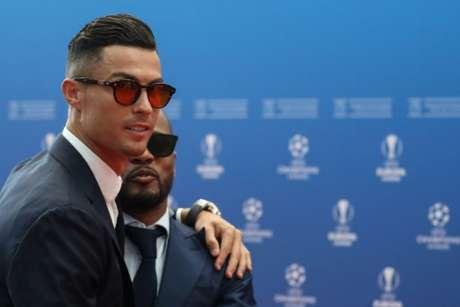 Cristiano Ronaldo não foi eleito melhor atacante ou melhor jogador da última temporada (Foto: AFP)