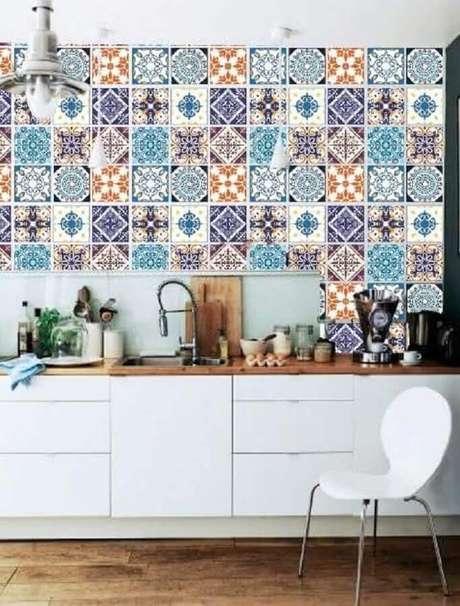 1. O azulejo para cozinha pode mudar todo o visual do ambiente – Foto: Pinterest