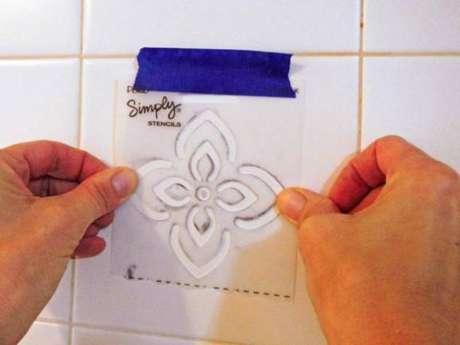 2. Exemplo de molde de azulejo para cozinha