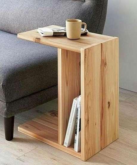 12. Esta é uma forma bem moderna de ter um revisteiro em casa. Foto: Instagram