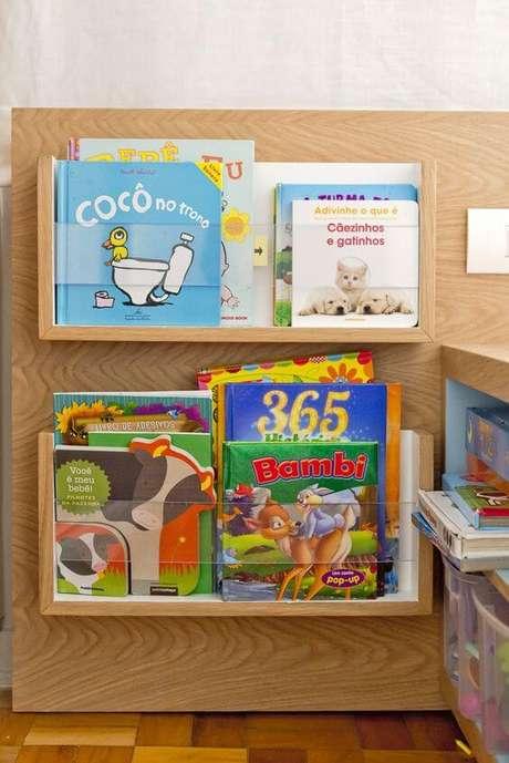 9. Este é um ótimo modelo de revisteiro infantil. Foto: Ameise Design