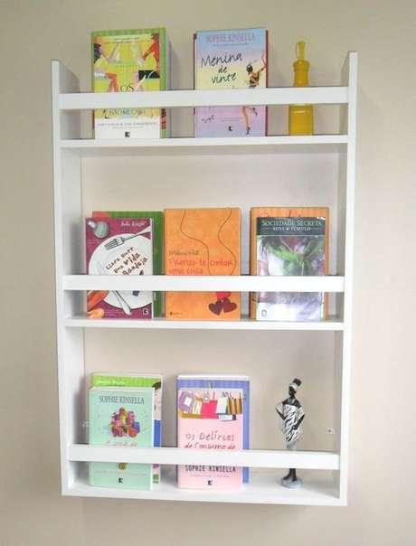 26. Alguns revisteiros se assemelham muito com uma estante. Foto: Tendência 7