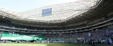 Palmeiras vende mais de 20 mil ingressos para jogo contra o Fluminense, no dia 10 de setembro (Foto: Cesar Greco)