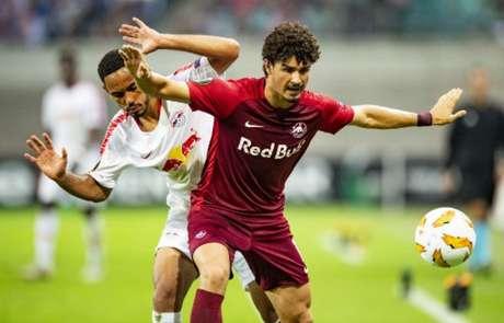 André Ramalho é um dos principais jogadores do RB Salzburg (Foto: Robert Michael/AFP)