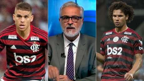 Fábio Sormani, comentarista da Fox, avaliou volante do Flamengo, Gustavo Cuellar (Reprodução)