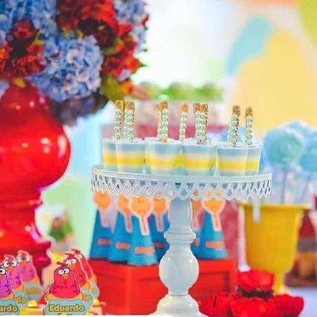31. Ideias para festa da Galinha Pintadinha decorada – Foto: Doce Efeito