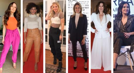 Looks das famosas (Fotos: Daniel Pinheiro/AgNews - @larissamanoela/Instagram/Reprodução)