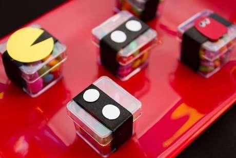 14. O Pac Man também pode estar nos doces da festa anos 80. Foto: Festa Teen