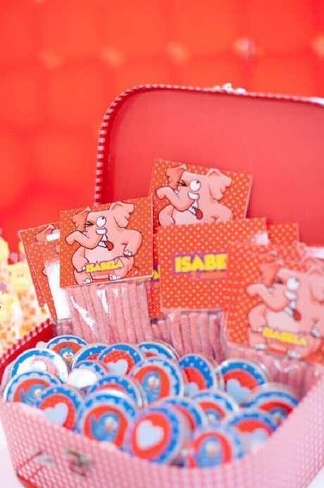 61. Ideias para festa da Galinha Pintadinha rosa – Foto: Pinterest