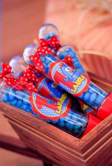 68. Docinhos personalizados para lembrancinhas de festa da Galinha Pintadinha – Foto: Assetproject