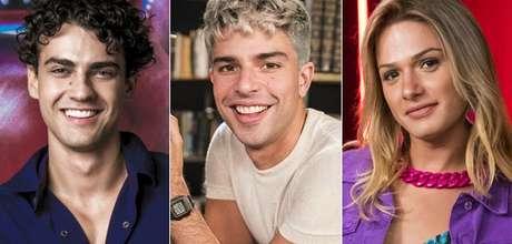 Guga (Pedro Alves), William (Diego Montez) e Britney (Glamour Garcia): discussões sobre homofobia e transfobia em período tenso para ativistas da diversidade sexual no Brasil