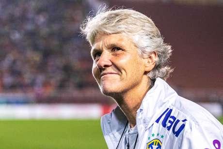 Pia Sundhage, treinadora da seleção brasileira feminina de futebol.