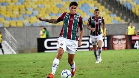 Pedro está de saída para a Fiorentina (Foto: Mailson Santana/Fluminense)